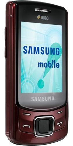 Фото телефона Samsung GT-C6112 Duos deep red