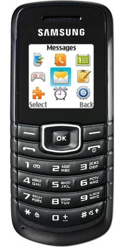 Samsung GT-E1080 black