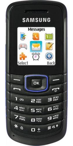 Samsung GT-E1080 blue