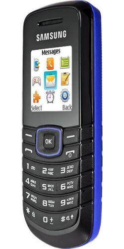 Фото телефона Samsung GT-E1080 blue