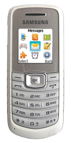 Samsung GT-E1080 white