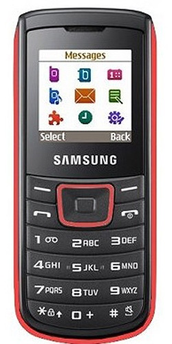 Samsung GT-E1100 red