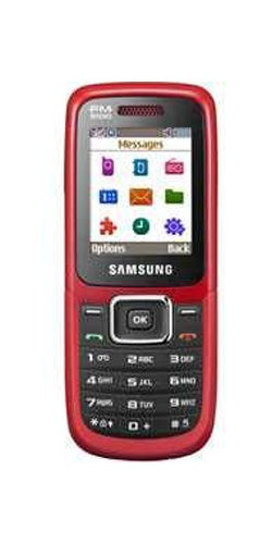 Samsung GT-E1210 scarlet red