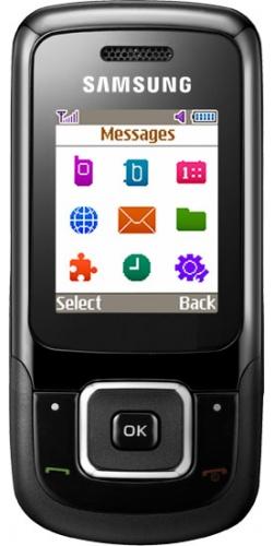 Samsung GT-E1360 black