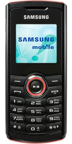 Samsung GT-E2121 red
