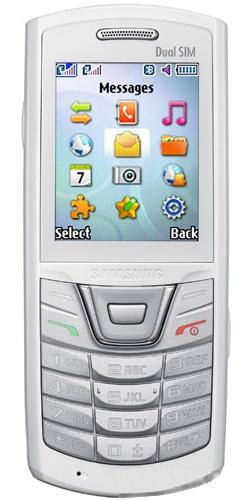 Samsung GT-E2152 Duos white