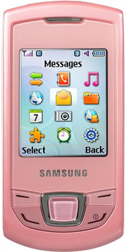 Samsung GT-E2550 Monte Slider pink