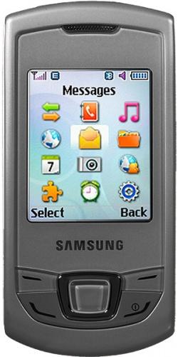 Samsung GT-E2550 Monte Slider silver