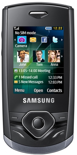 Samsung GT-S3550 Shark 3 black