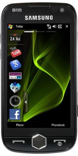 Samsung GT-i8000 Omnia II rose black