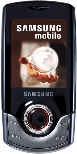 Samsung GT-S3100 charcoal gray