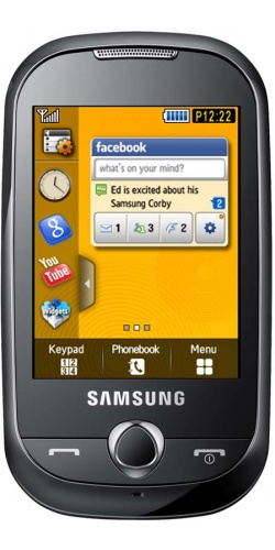 Samsung GT-S3650 Corby yellow