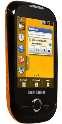 Фото телефона Samsung GT-S3650 Corby orange