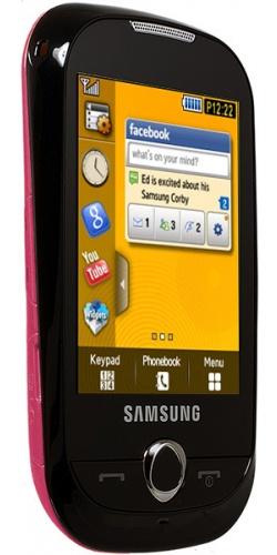 Фото телефона Samsung GT-S3650 Corby pink