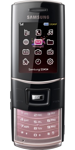 Фото телефона Samsung GT-S5050 La-Fleur gold pink