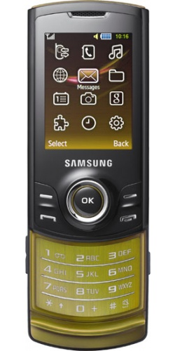 Фото телефона Samsung GT-S5200 black gold