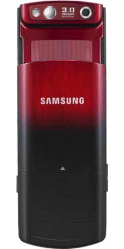 Фото телефона Samsung GT-S5200 garnet red