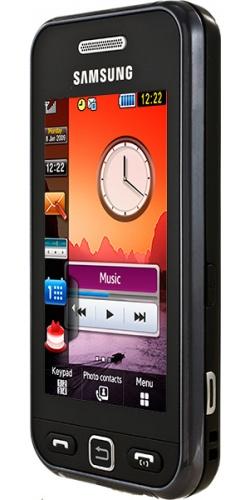 Фото телефона Samsung GT-S5230 Star black