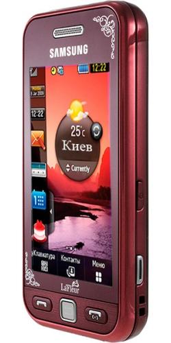 Фото телефона Samsung GT-S5230 Star red