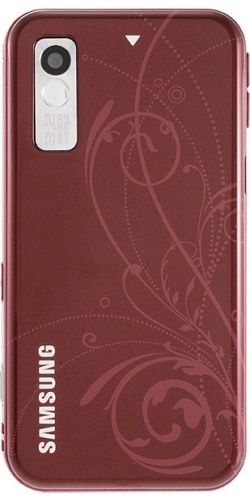 Фото телефона Samsung GT-S5230 Star red