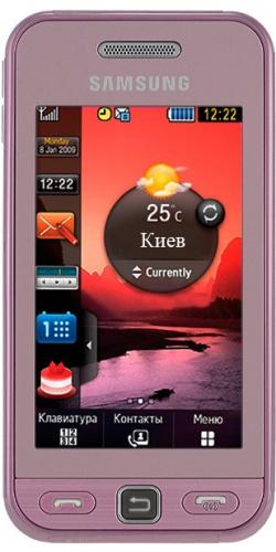 Samsung GT-S5230 Star pink