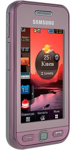Фото телефона Samsung GT-S5230 Star pink
