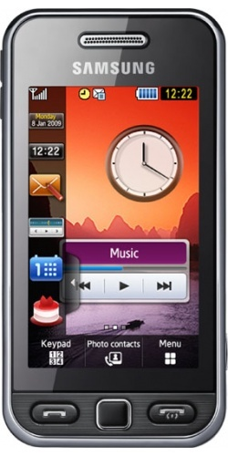Samsung GT-S5230W Star Wi-Fi black
