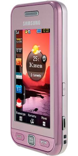 Фото телефона Samsung GT-S5230W Star Wi-Fi pink
