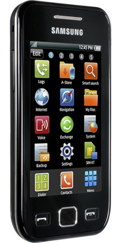 Фото телефона Samsung GT-S5250 Wave 525 black