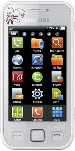 Samsung GT-S5250 Wave 525 LaFleur white