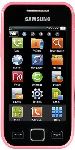 Фото телефона Samsung GT-S5250 Wave 525 pink