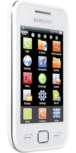 Фото телефона Samsung GT-S5250 Wave 525 white
