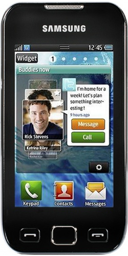 Samsung GT-S5330 Wave 533 Pro black