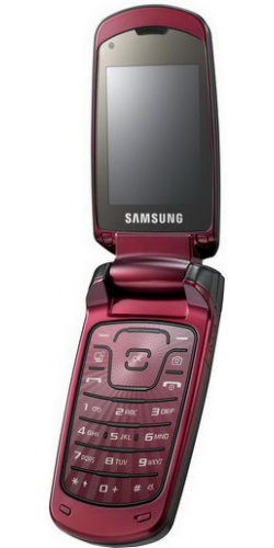 Фото телефона Samsung GT-S5510 ruby red