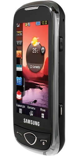 Фото телефона Samsung GT-S5560 black