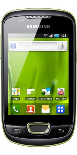 Фото телефона Samsung GT-S5570 Galaxy mini lime green
