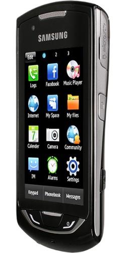 Фото телефона Samsung GT-S5620J Monte Navi deep black