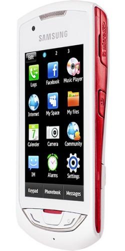 Фото телефона Samsung GT-S5620J Monte Navi white