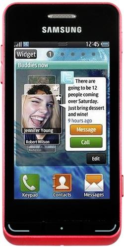 Samsung GT-S7230 Wave 723 red