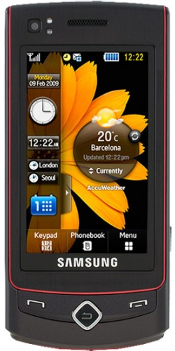 Samsung GT-S8300 Ultra Touch platinum red