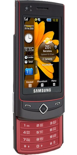 Фото телефона Samsung GT-S8300 Ultra Touch platinum red