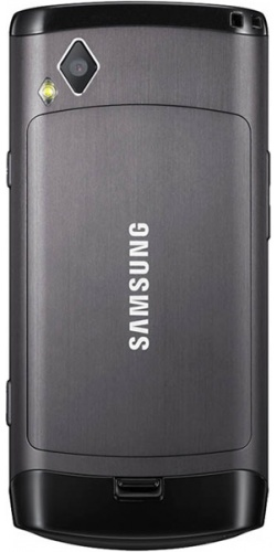 Фото телефона Samsung GT-S8500 Wave ebony grey