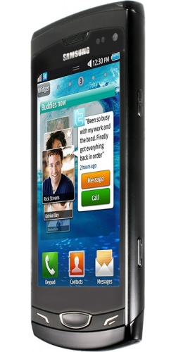 Фото телефона Samsung GT-S8530 Wave II black