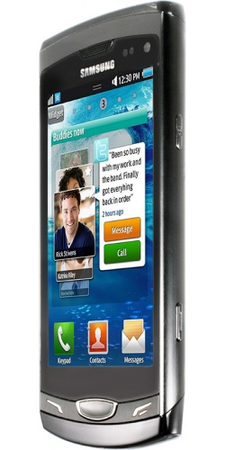 Фото телефона Samsung GT-S8530 Wave II grey