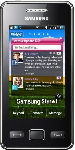 Samsung GT-S5260 Star II black