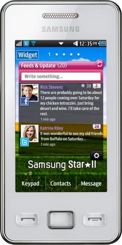 Samsung GT-S5260 Star II white