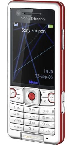 Sony Ericsson C510 energetic red