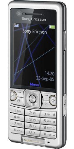 Sony Ericsson C510 radiation silver
