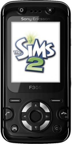 Sony Ericsson F305 mystic black