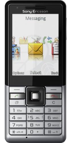 Sony Ericsson J105 Naite vapor silver